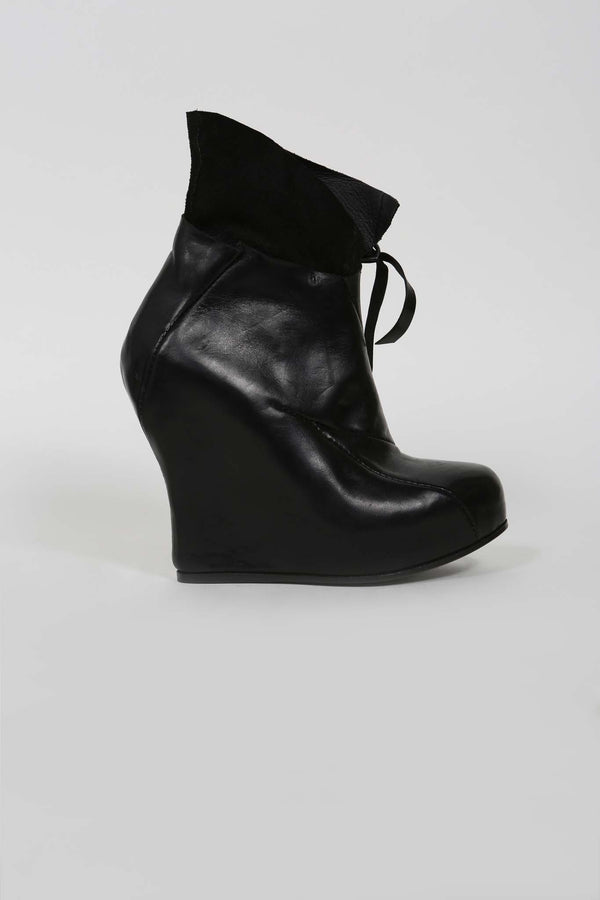 WOMENS DISTORTION PLATFORM BOOTS