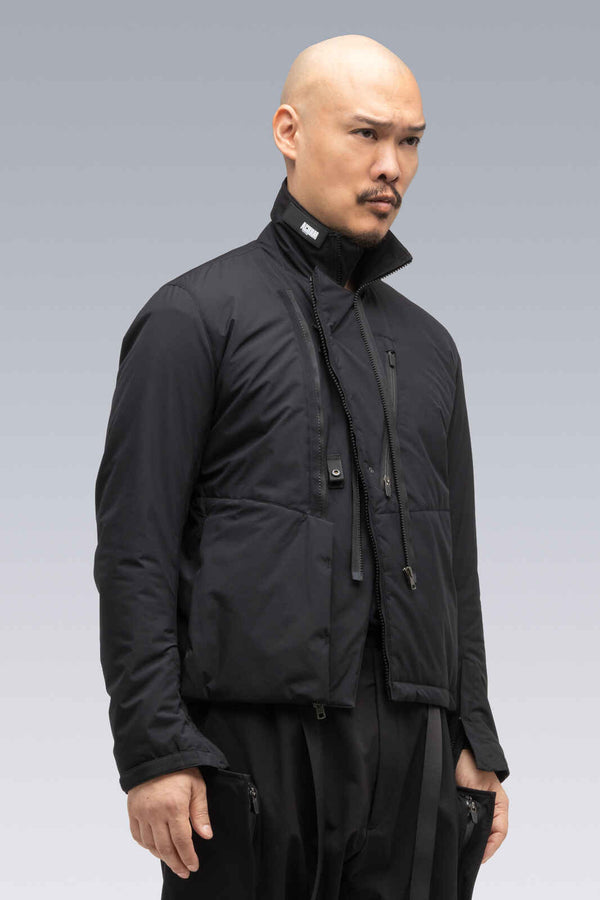 J68-PL 2L Gore-Tex Infinium™ Windstopper® Rider Jacket - BLACK
