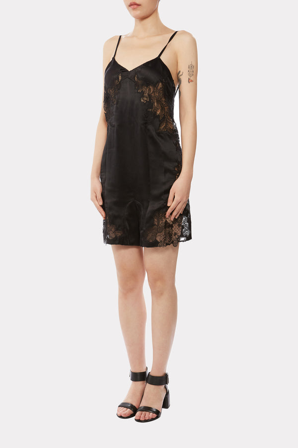 SILK LACE ROMPER