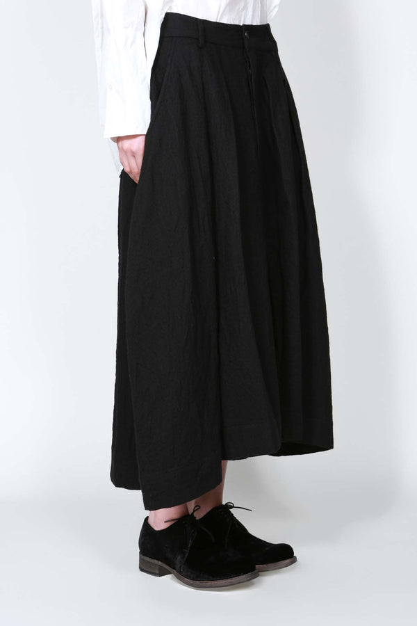 Black Field Skirt