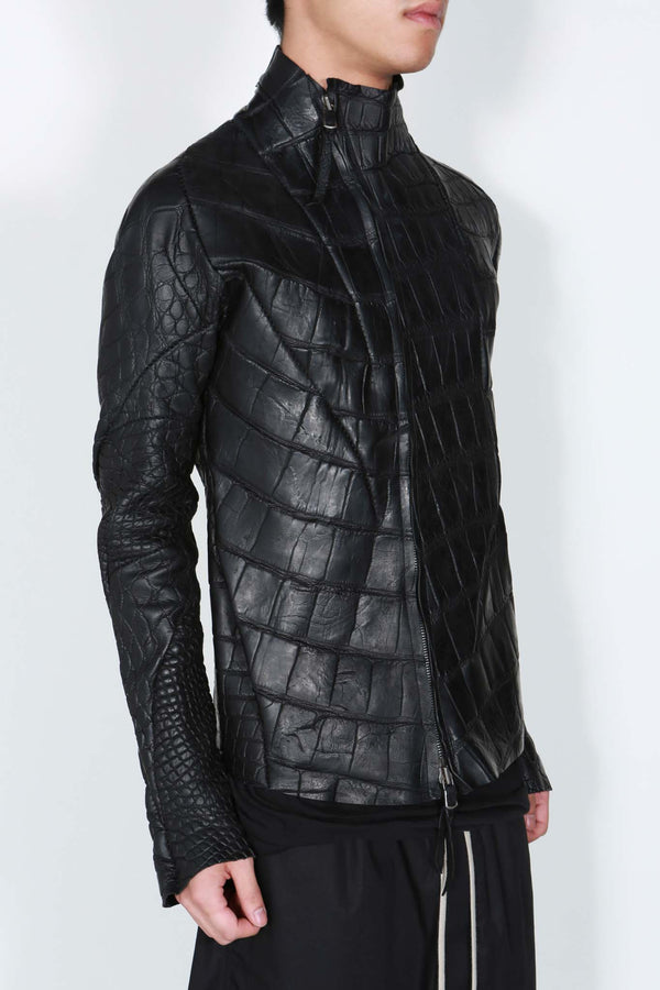 Genuine Alligator Leather Jacket