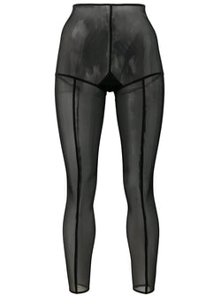 Leggins Soft Tulle Black