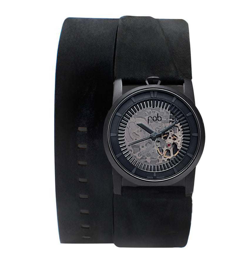 Matte Black (double) Watch