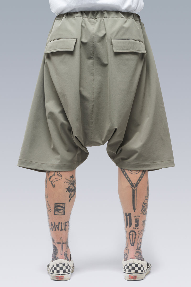 SP28-DS Schoeller® Dryskin™ Ultrawide Drawcord Short Pants - ALPHA GREEN