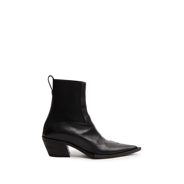 ELASTICATED BOOT AULT BLACK