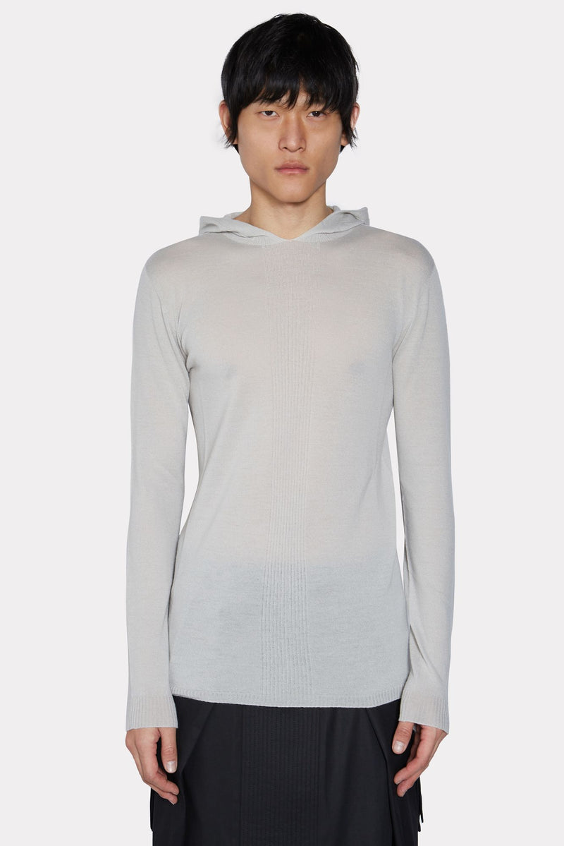 Oyster Knitted Hoodie