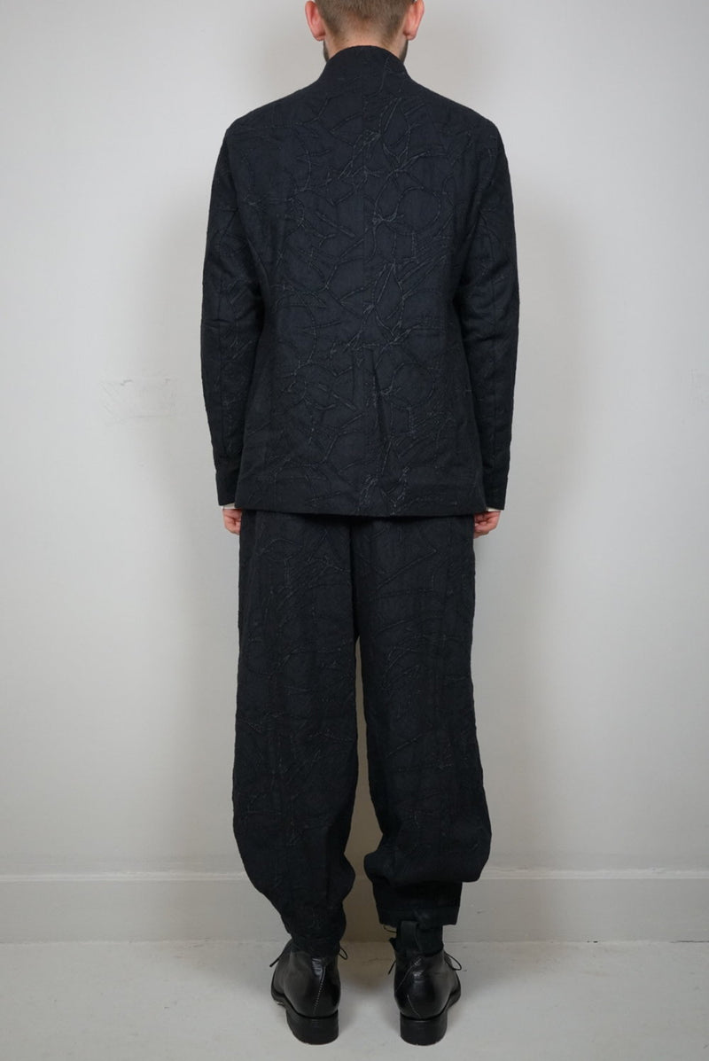 Wool Baggy Trousers