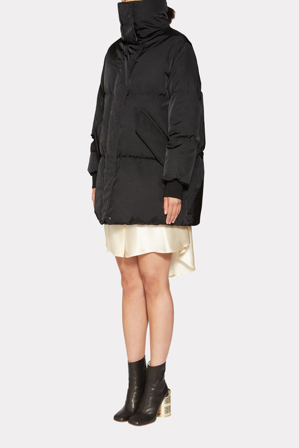Oversized padded sports jacket