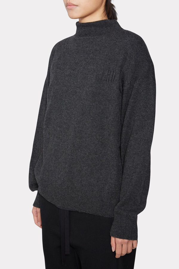 Grey Cashmere Jumper