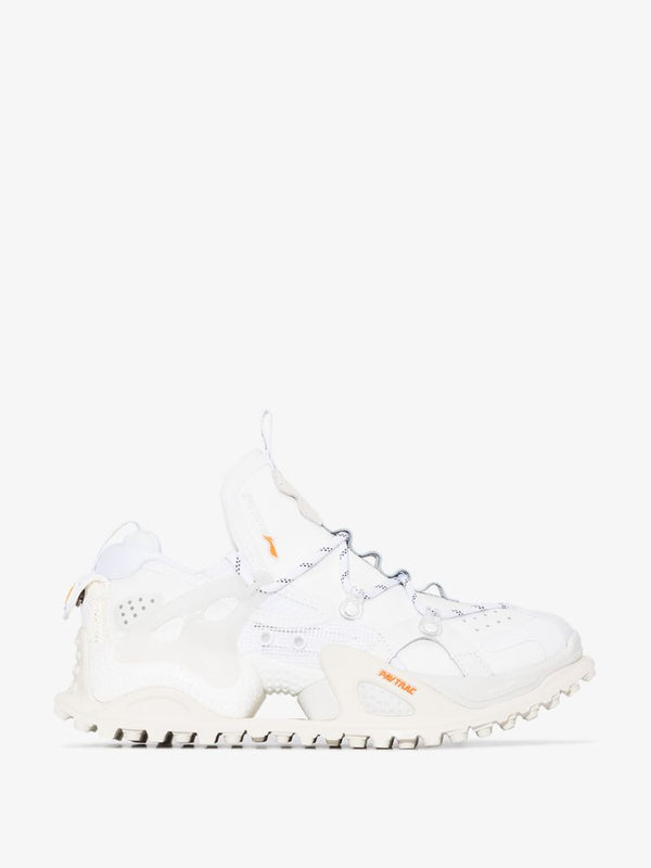 WOMENS TITAN HALO WHITE CHUNKY TRAINERS