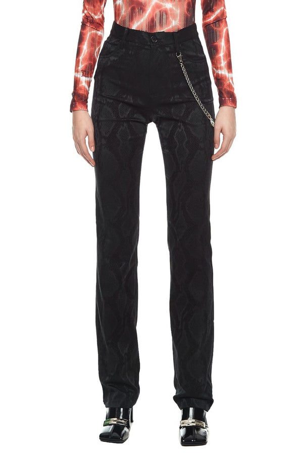 Snake Tailored Trousers Black