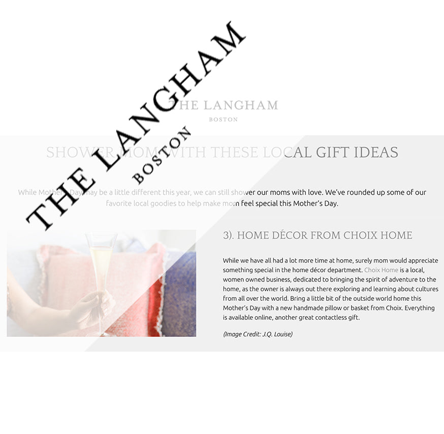 The Langham Hotel, Mother's Day Gifts, May 2020