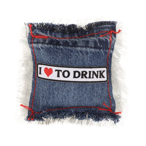 I Love To Drink Lavender Sachet