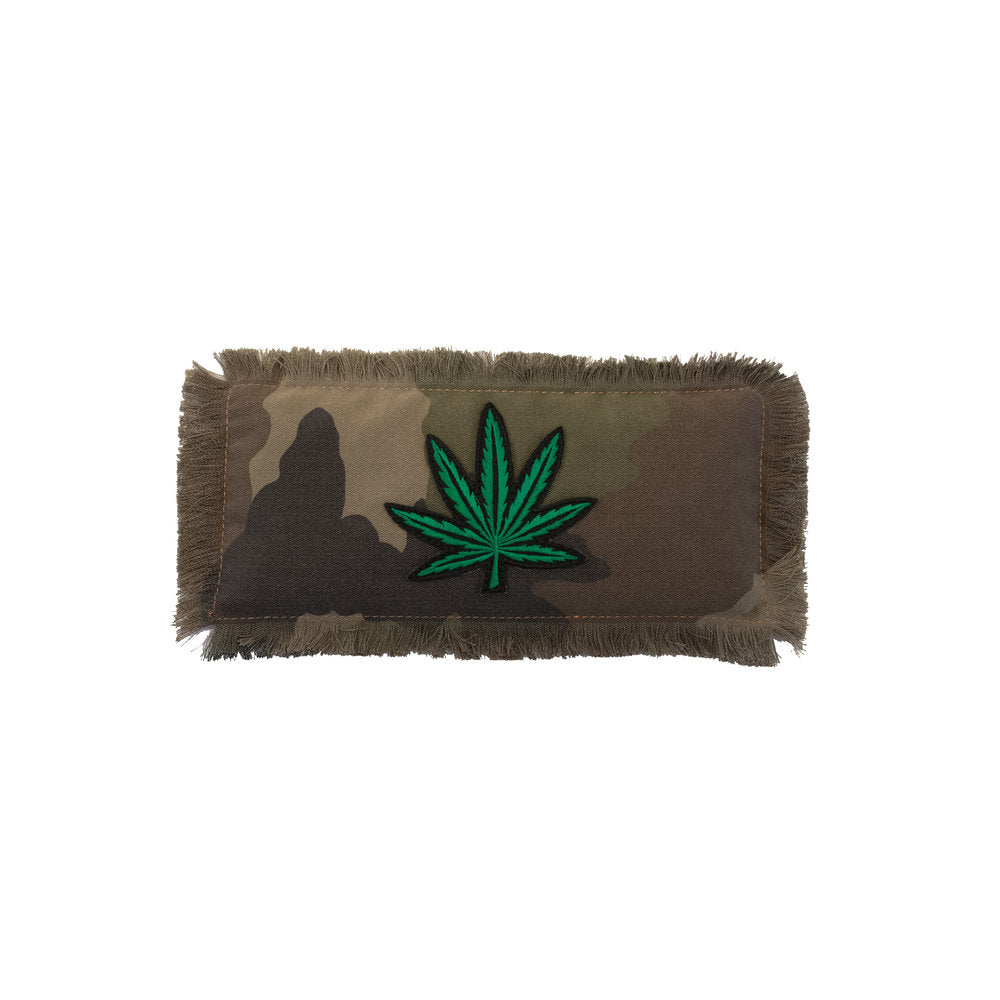 Camo Pot Leaf Eye Pillow