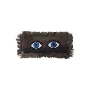 Camo Two Eyes Pillow