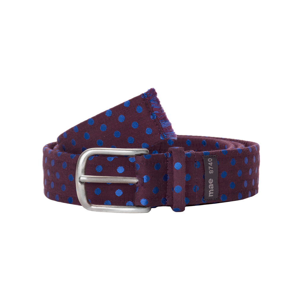 Fabric Polka Dot Belt 1530