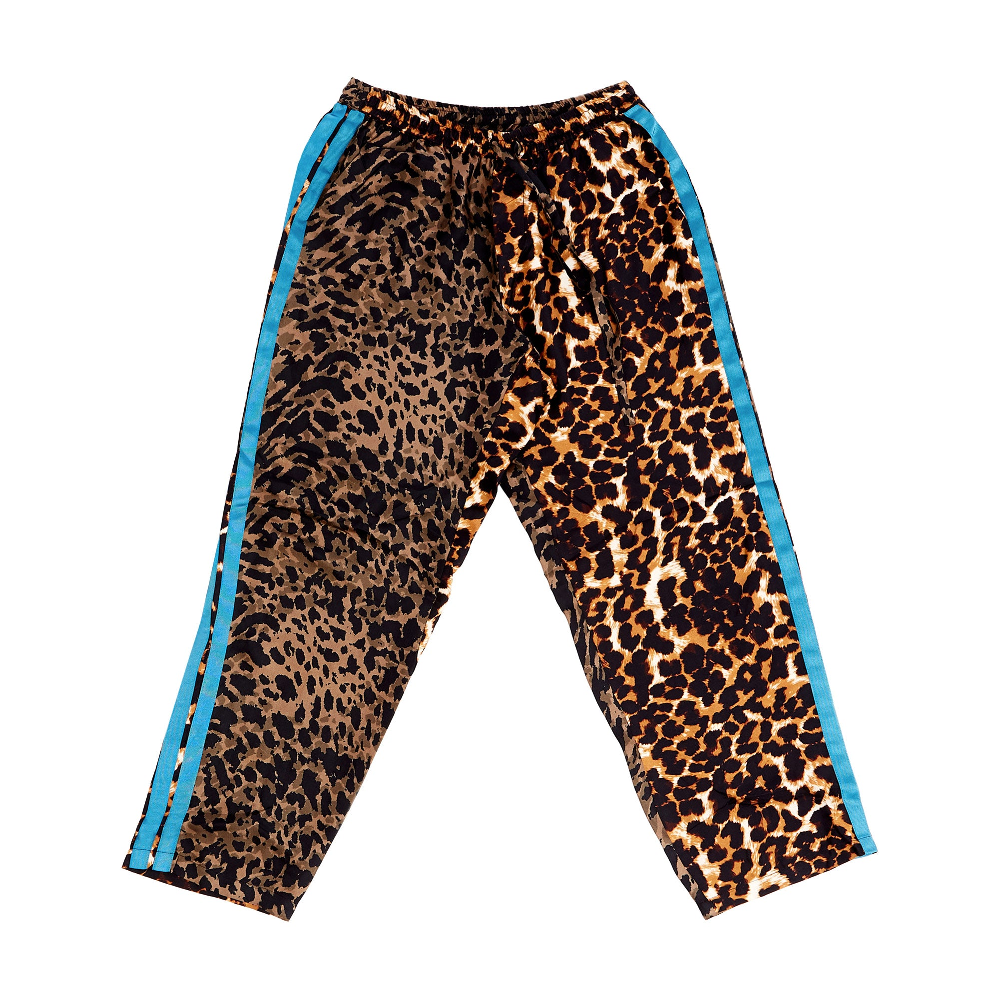 Leopard Print Cropped Pant
