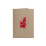 Number 1 Finger Card - 4Bar