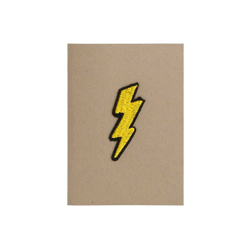Lightning Bolt Card - 4Bar