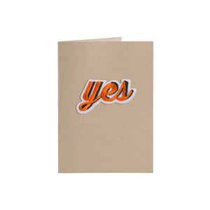 Yes Card - 4Bar