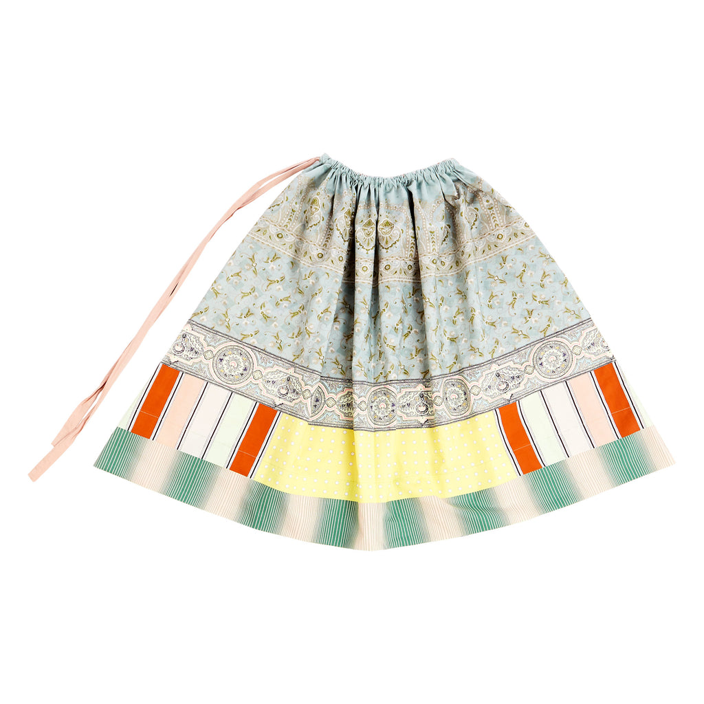 Salato Mixed Print Skirt