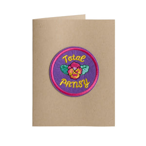 Total Pansy Card - A2