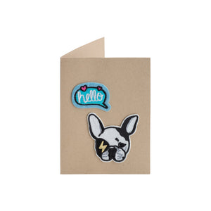 Hello Frenchie Card - A2