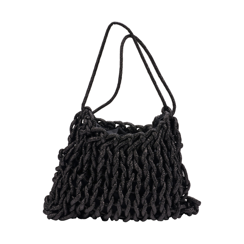 Lurex Rope Shoulder Bag