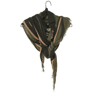 Diamond Scarf - Olive Green