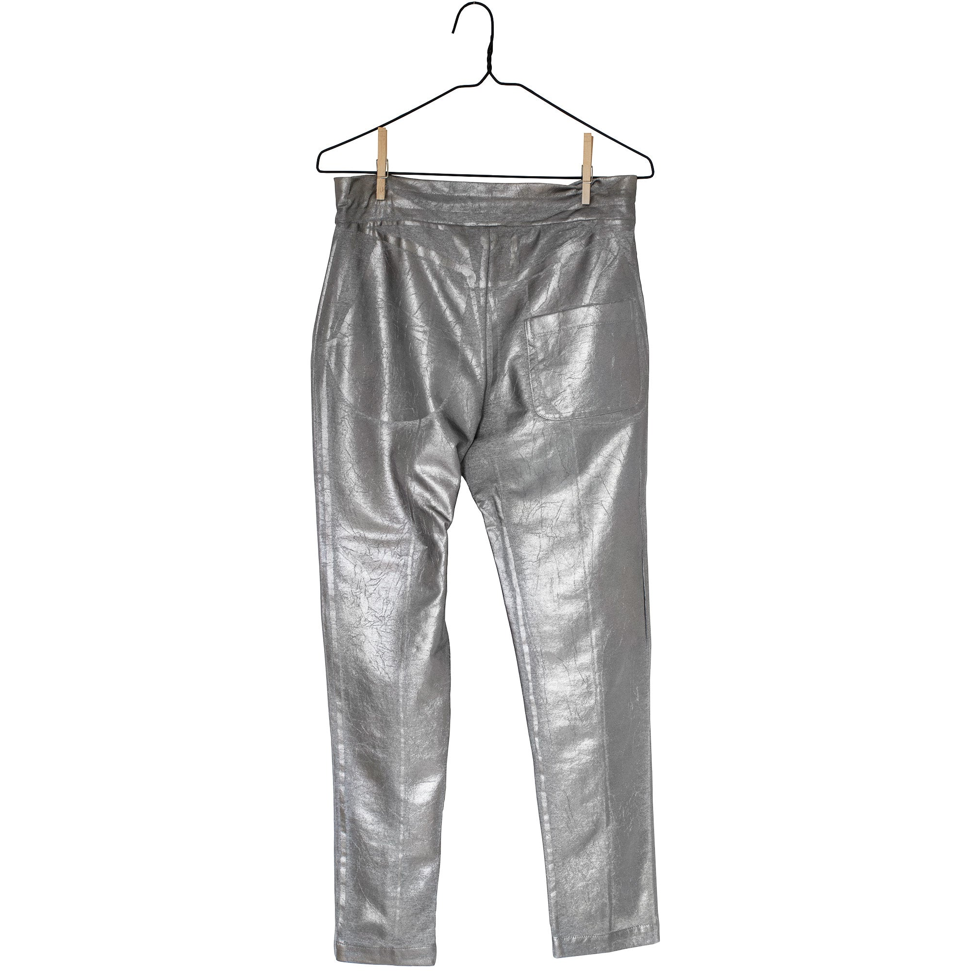 Metallic Sweatpants