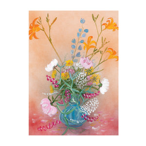 Flowers 900 Card