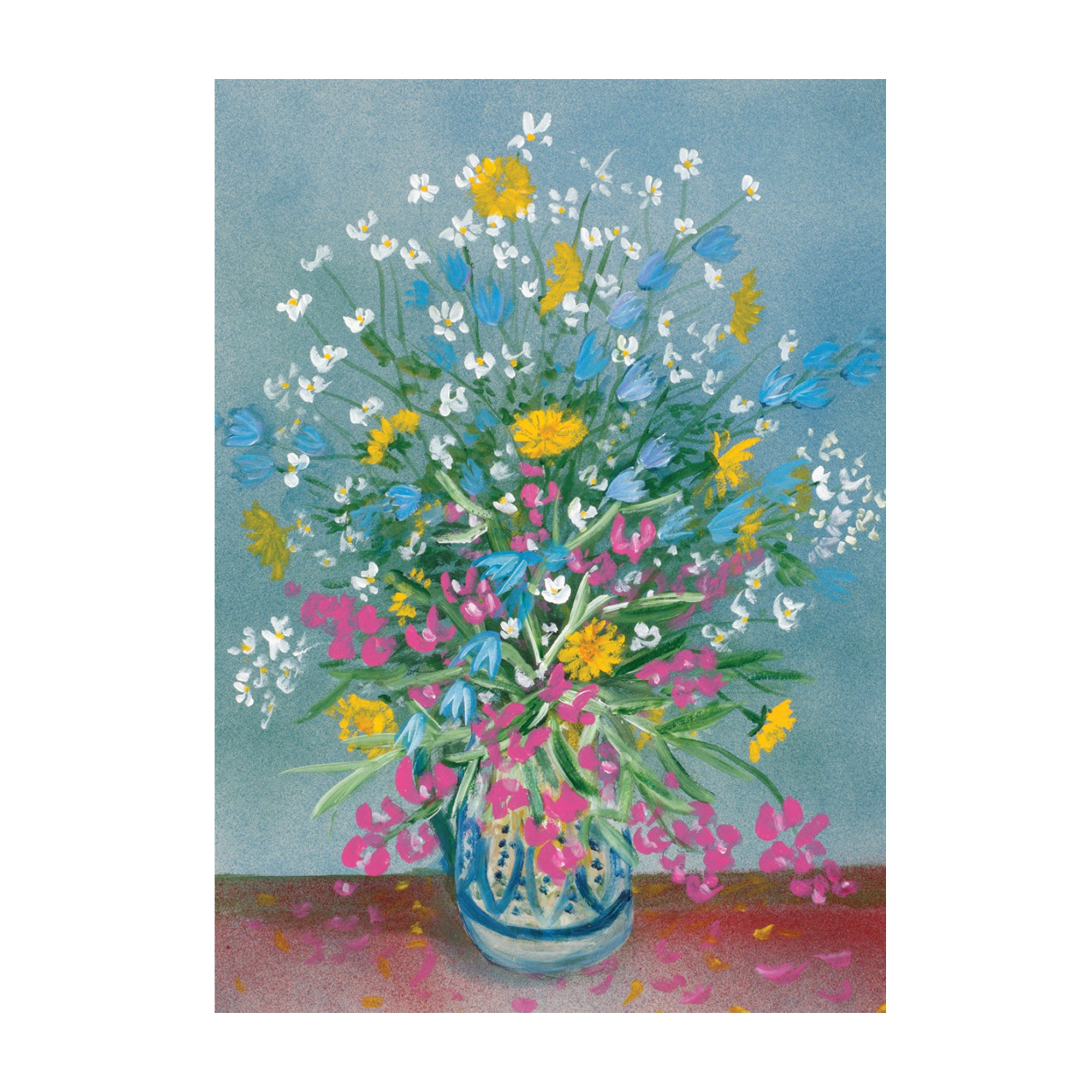 Flowers 896 Card