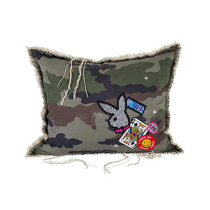 Camo Playboy Whatever Pillow