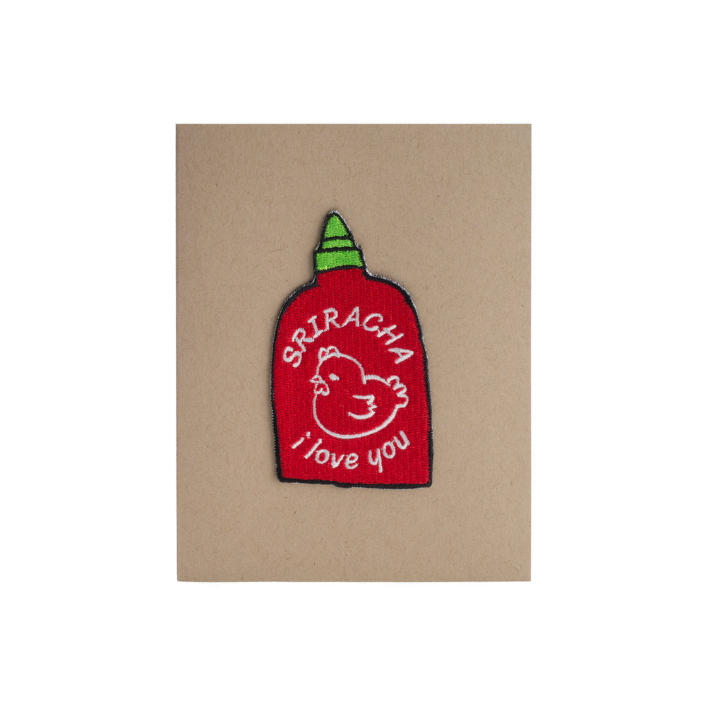 Sriracha I Love You Card - A2