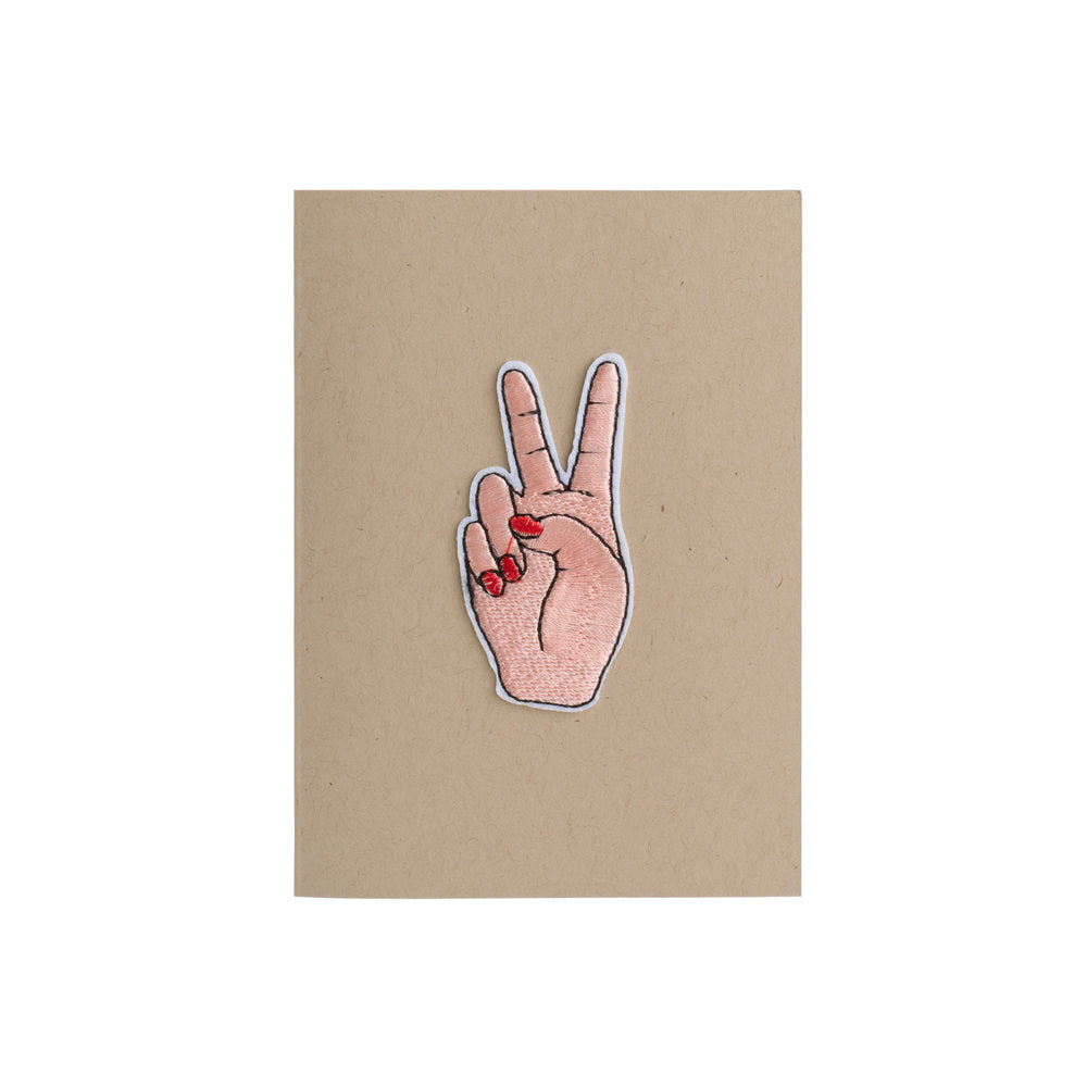 Peace Sign Card - 4Bar