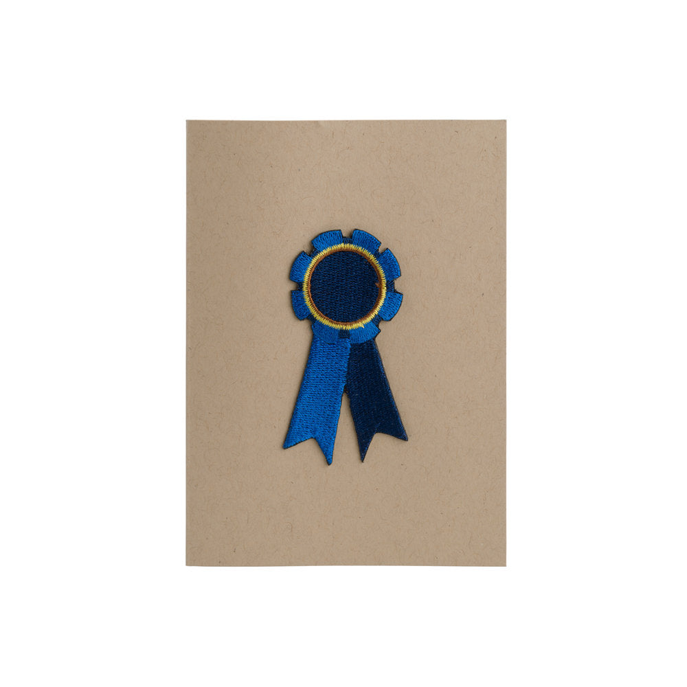 Blue Ribbon Card - 4Bar