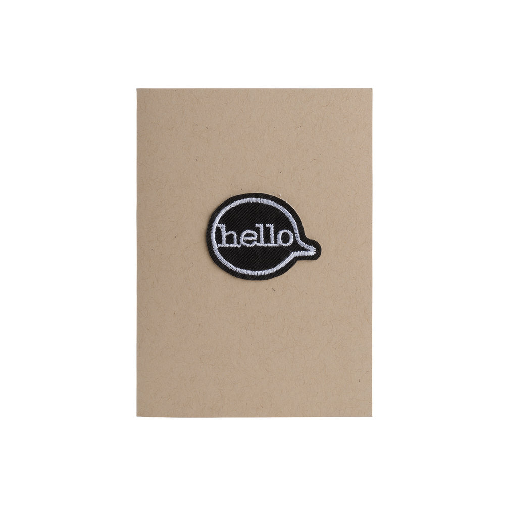 Hello Card - 4Bar