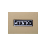 ATTENTION Card - A6