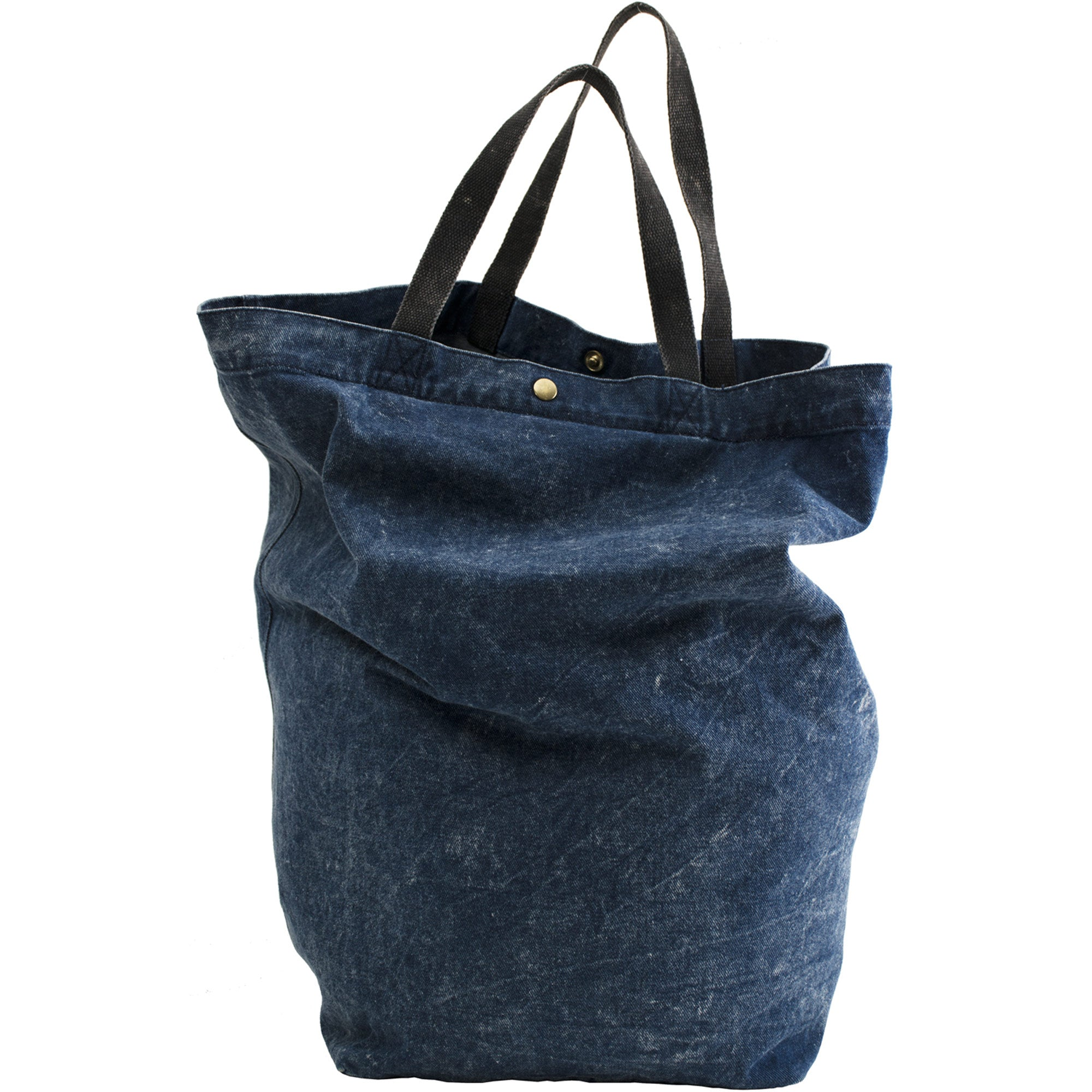 Stonewashed Denim Tote