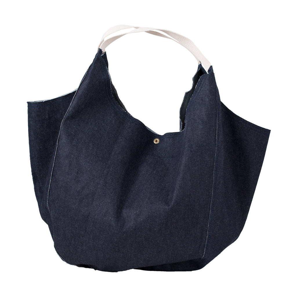 Unfinished Denim Bag