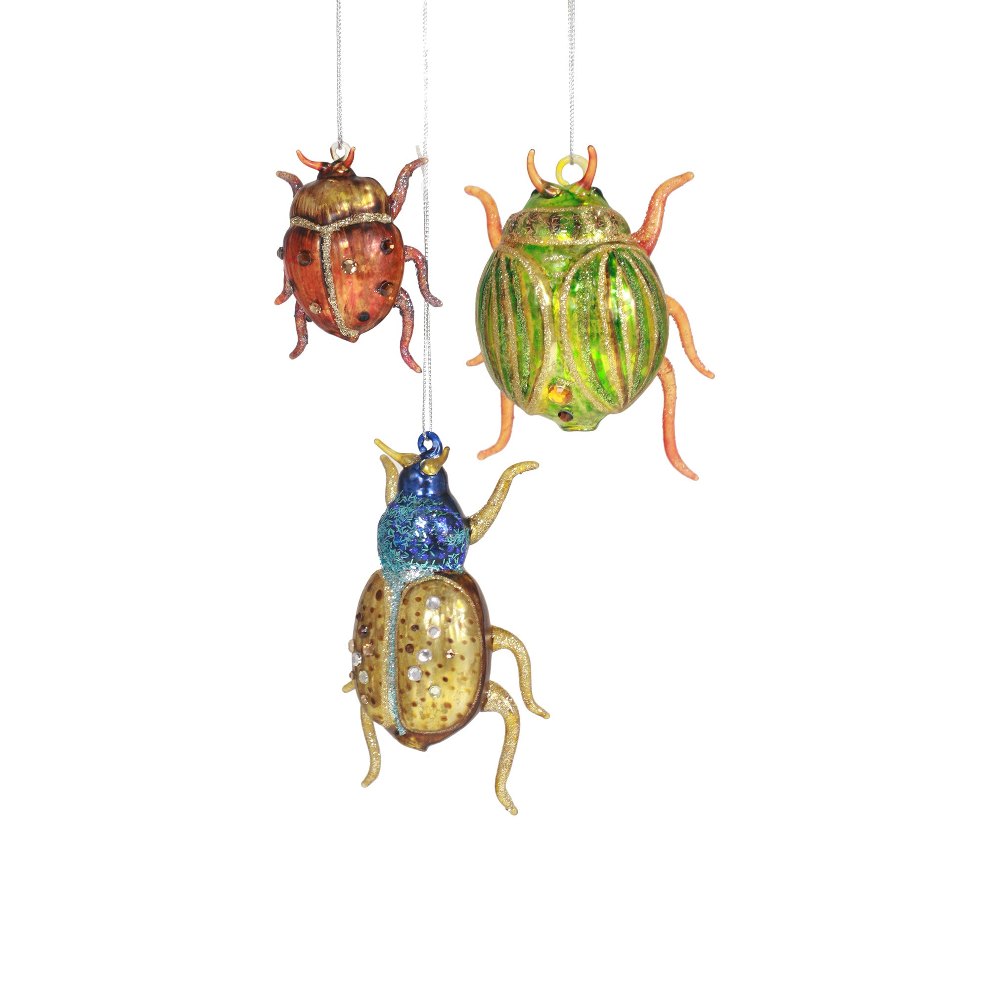 Beetle Ornaments I