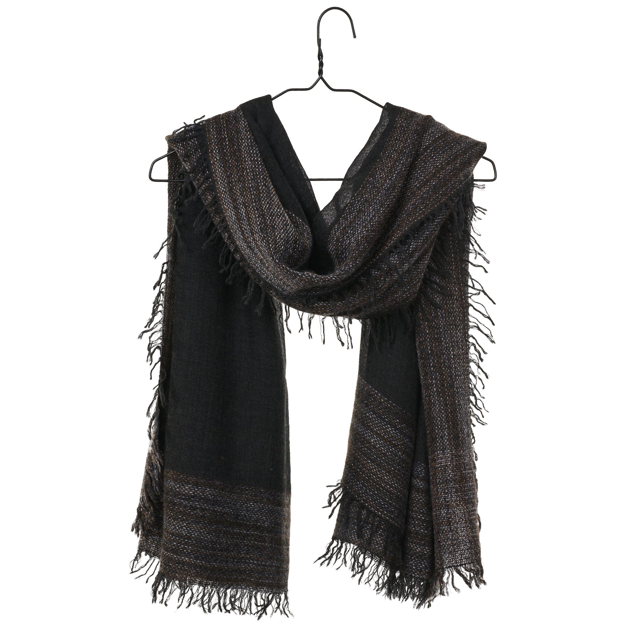 Leonor Scarf - Charcoal