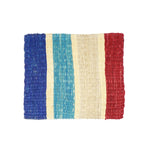 Striped Fique Placemat Set - Red White Blue