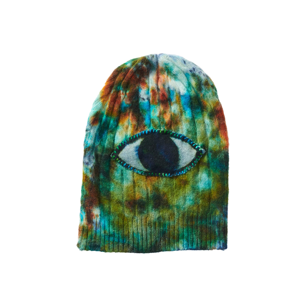 Roller Brim Knit Hat - Eye