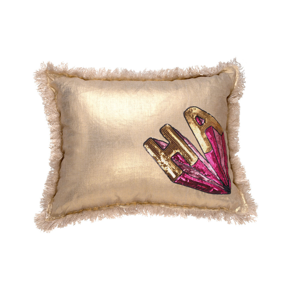 Metallic HA Pillow