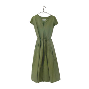 Ogo Shirtwaist Dress - Matcha