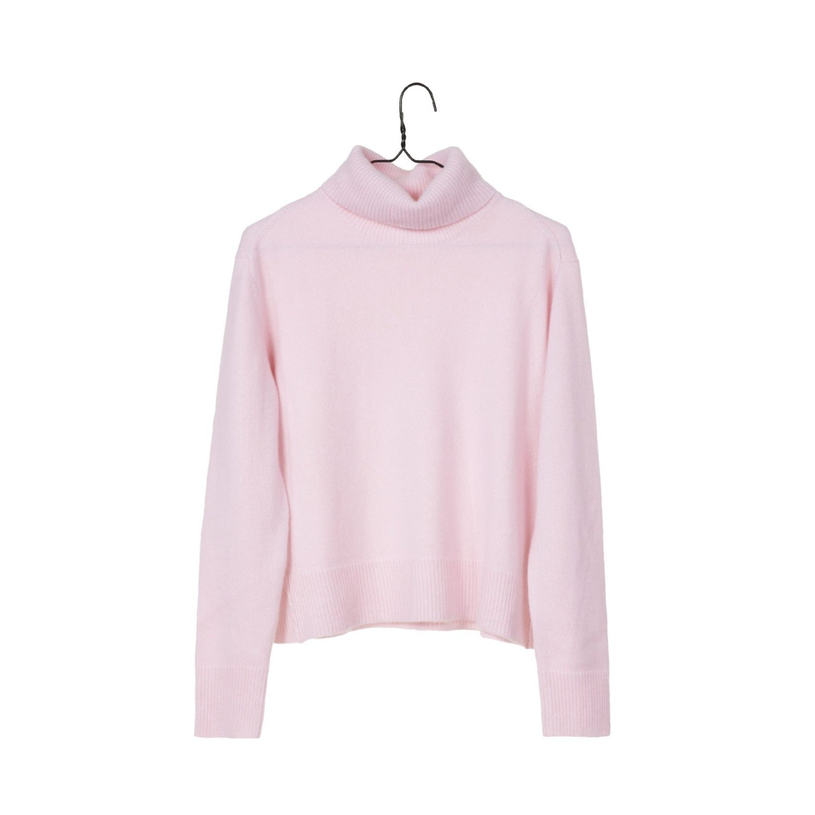 Knit Turtleneck Sweater - Piggy