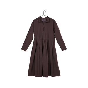 Tino Uni Dress - Burgundy