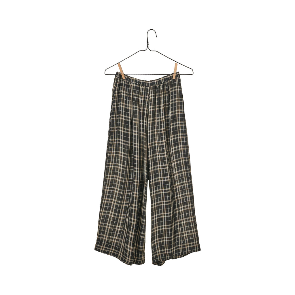 Oversized Plaid Soti Short