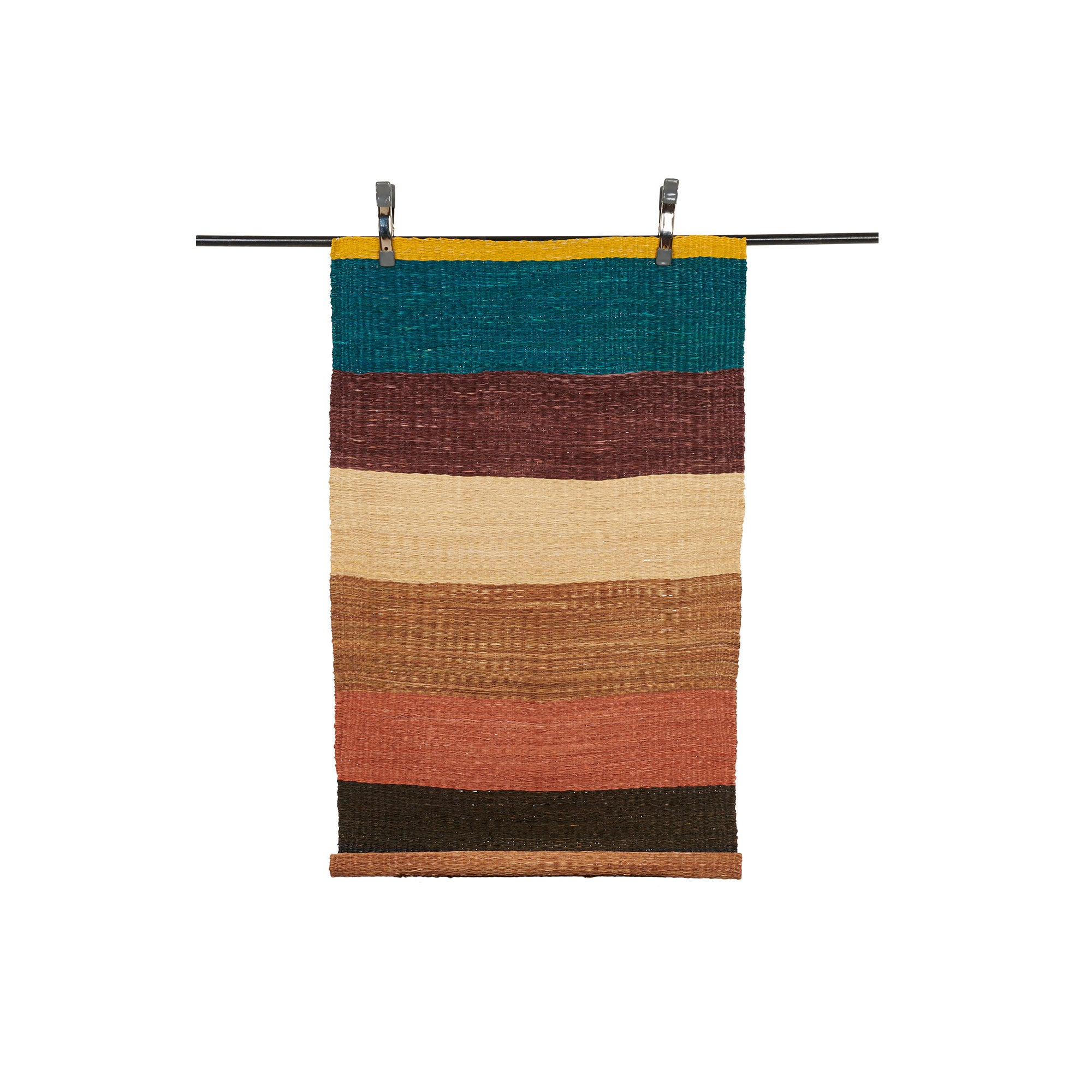 Short Wide Stripe Runner